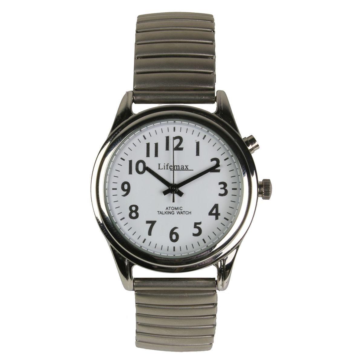Lifemax RNIB Talking Atomic Watch - Gents Expanding Bracelet