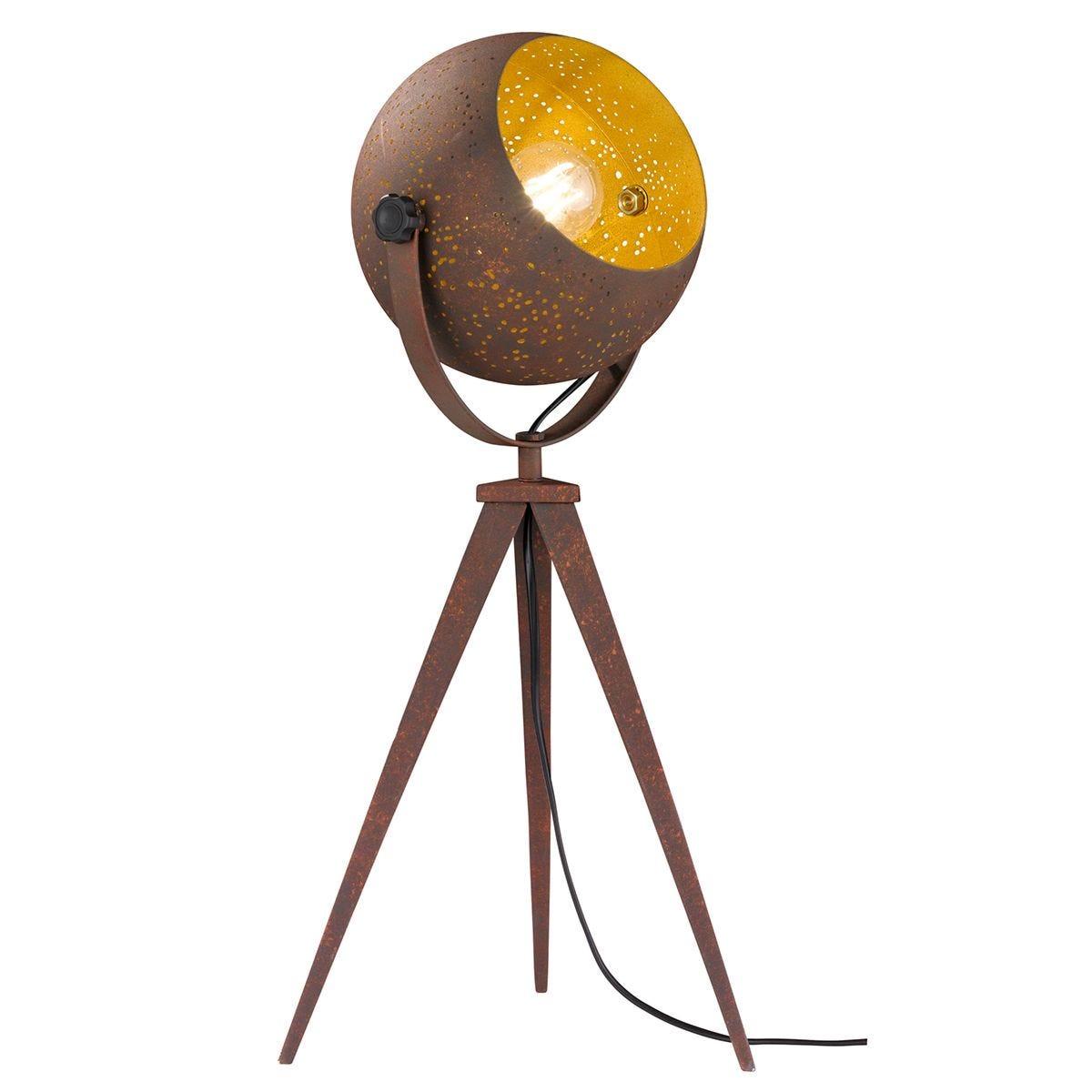 Action Avila Table Lamp - Antique Brown