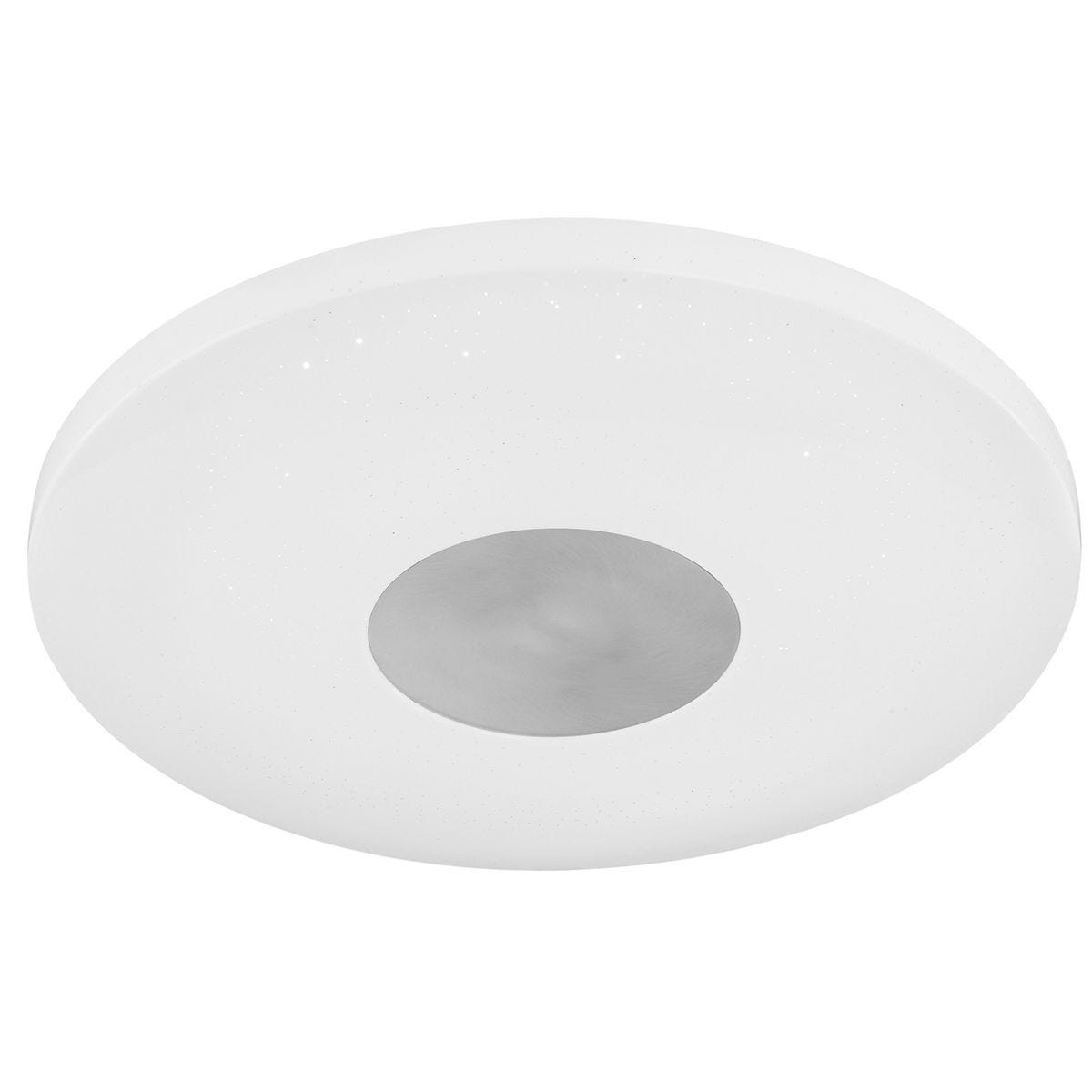 Action Carla Ceiling Lamp - White with LED Bulb