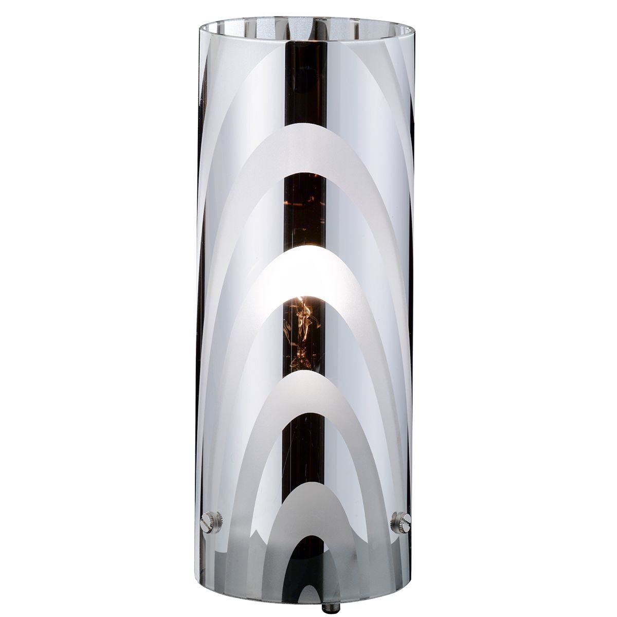 Action Collage Table Lamp - Nickel Matt Finished
