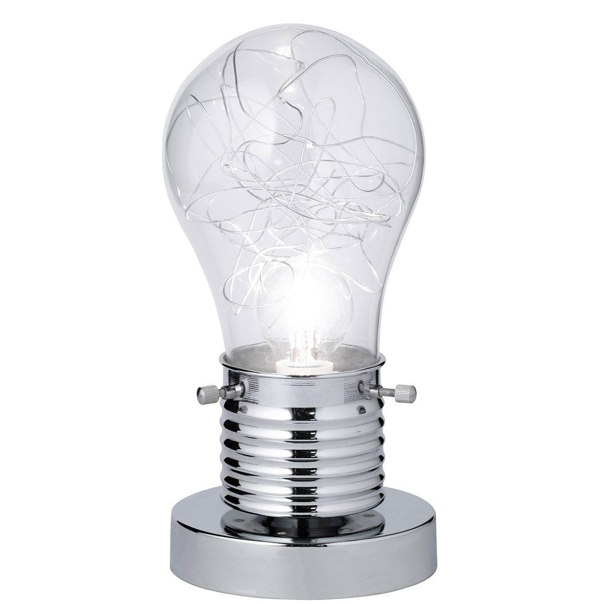 Action Futura Table Lamp - Chrome