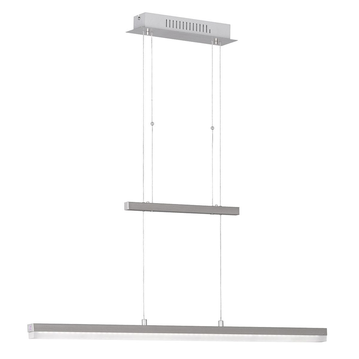 Action Gwen Pendant Bar/Spot Light - Nickel Matt Finished with LED Bulb