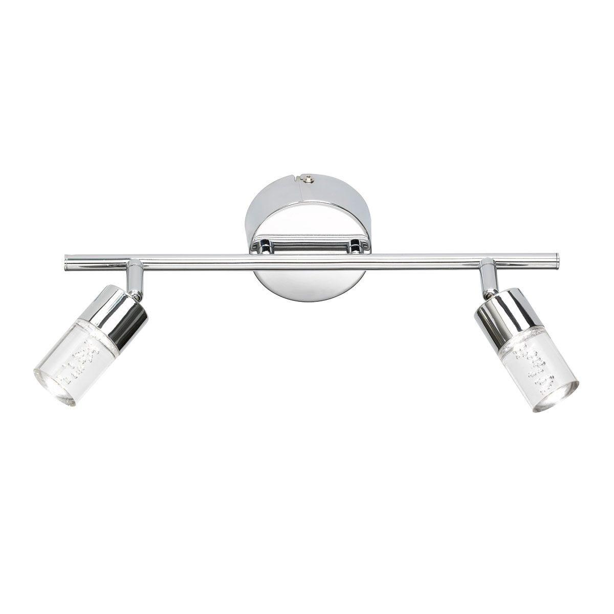 Action Lugo 2 LED Lamp Pendant Bar/Spotlight - Chrome