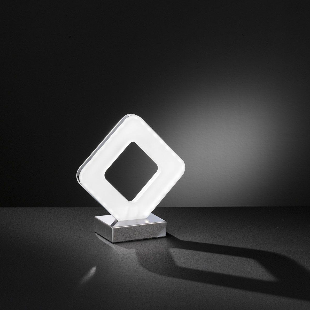 Action Pori LED Table Lamp - Chrome
