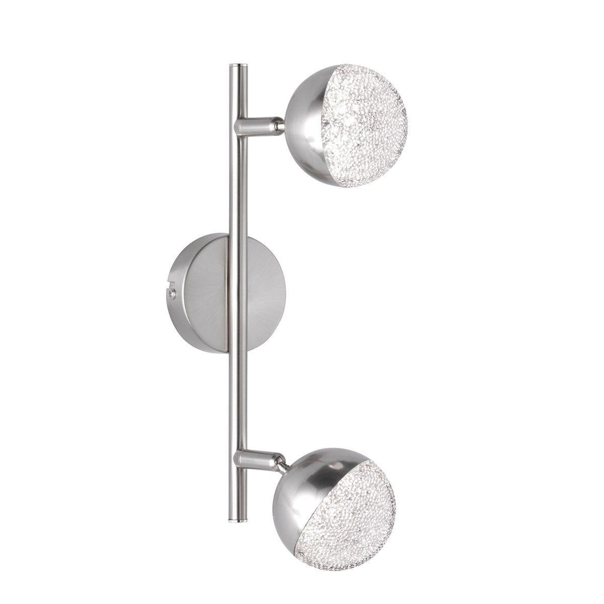 Action Sanan 2 LED Lamp Pendant Bar/Spotlight - Nickel Matt Finish