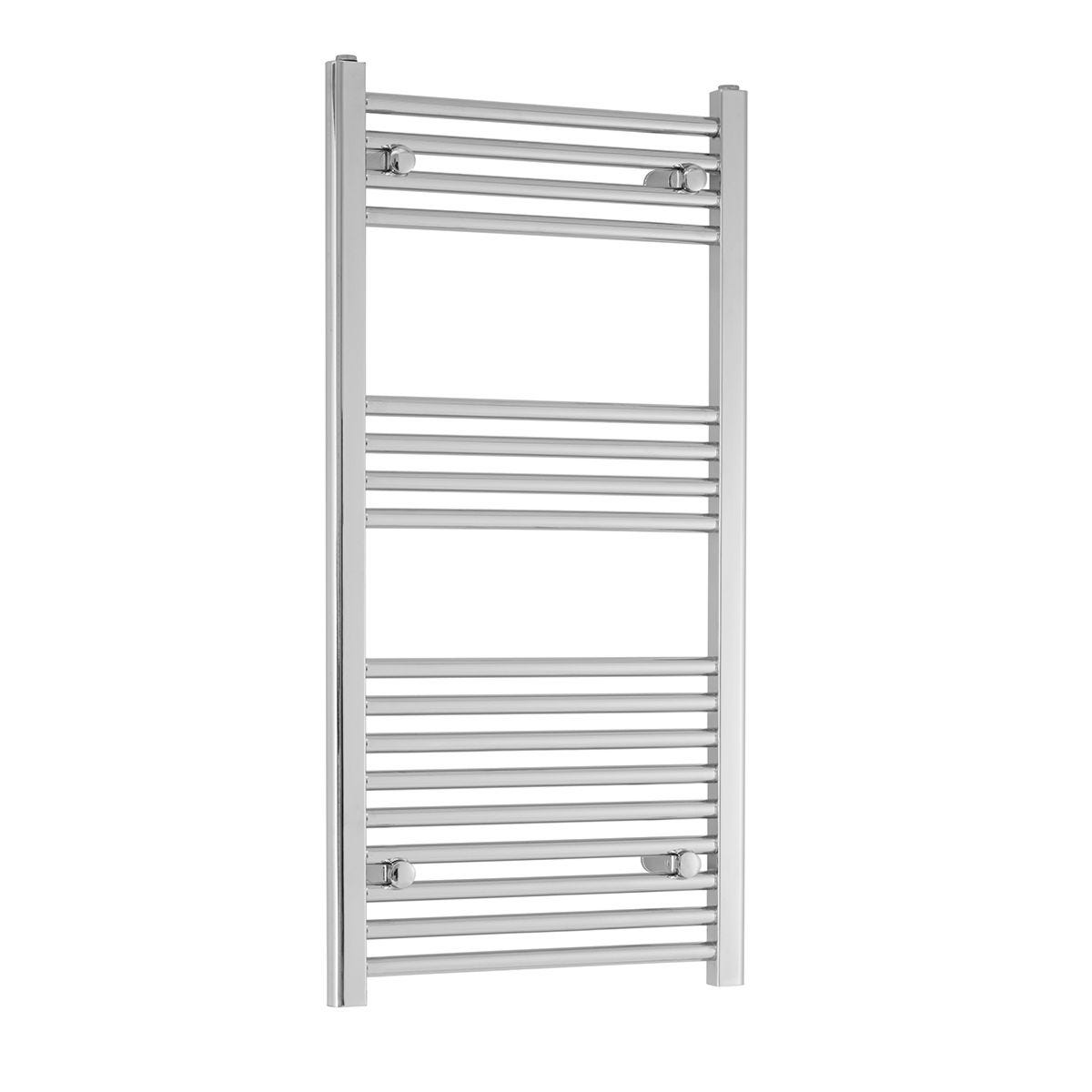 Heating Style Blythe Ladder Rail 800x600mm Straight - Chrome