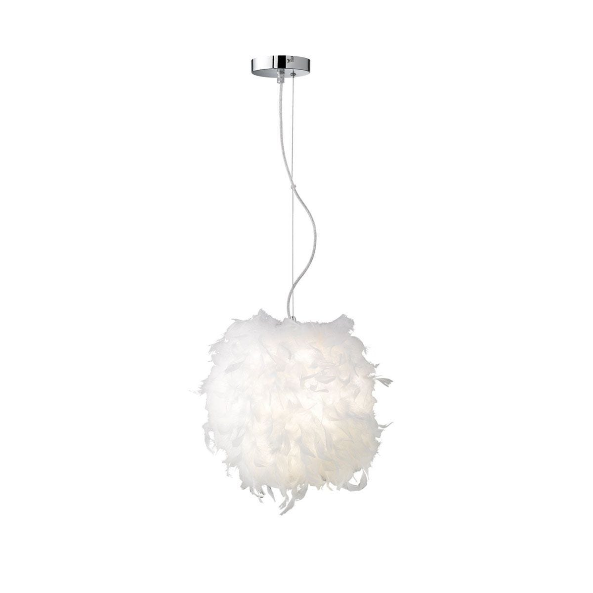 Wofi Ariana Pendant Ceiling Light - White