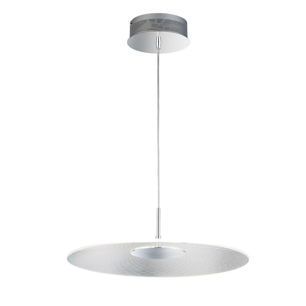 Wofi Coco LED Pendant Light - Chrome