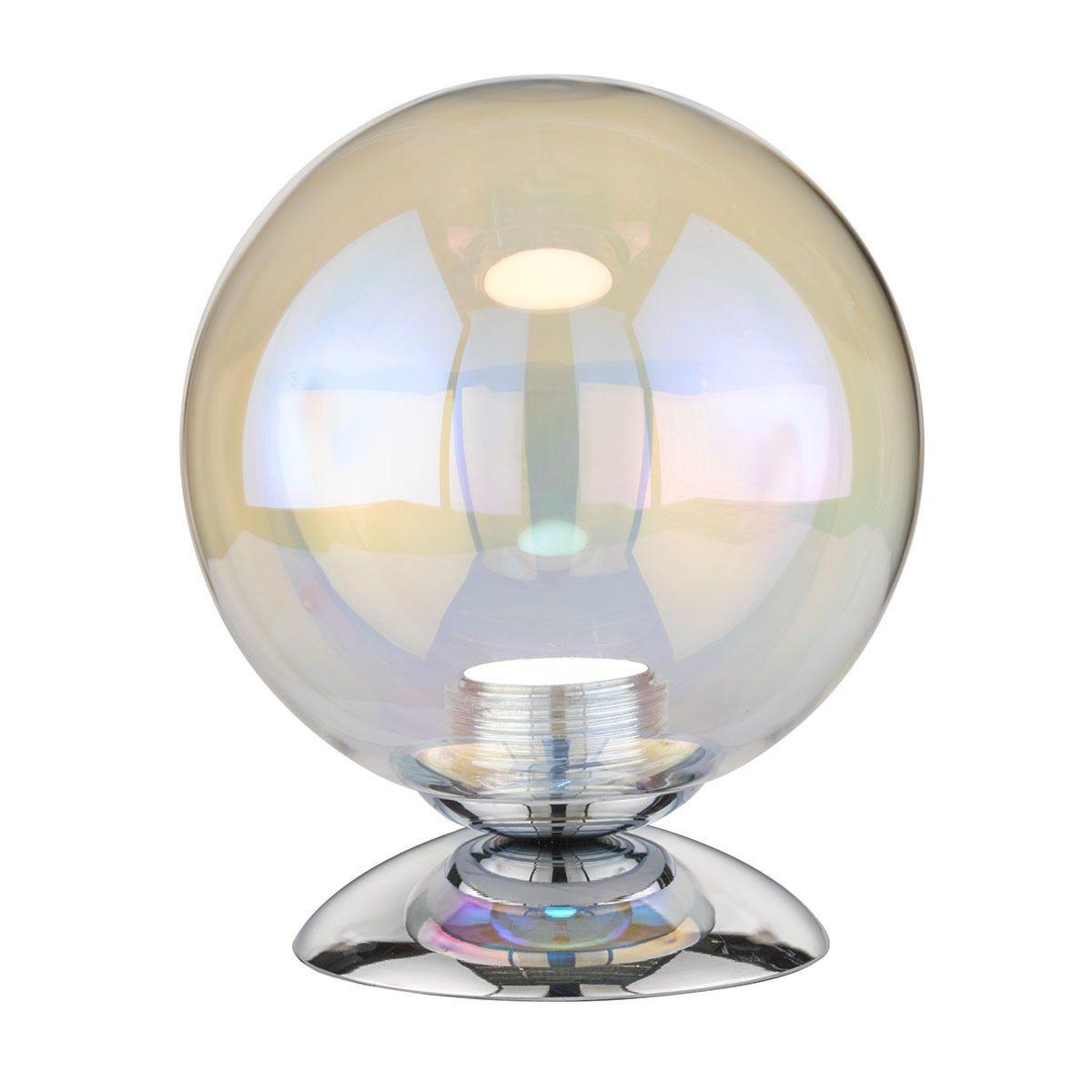 Wofi Colmar LED Table Lamp - Chrome