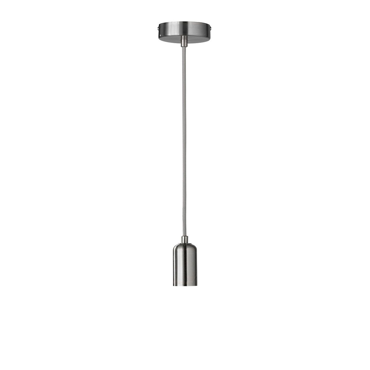 Wofi Dress Pendant Ceiling Light - Nickel Matt Finish