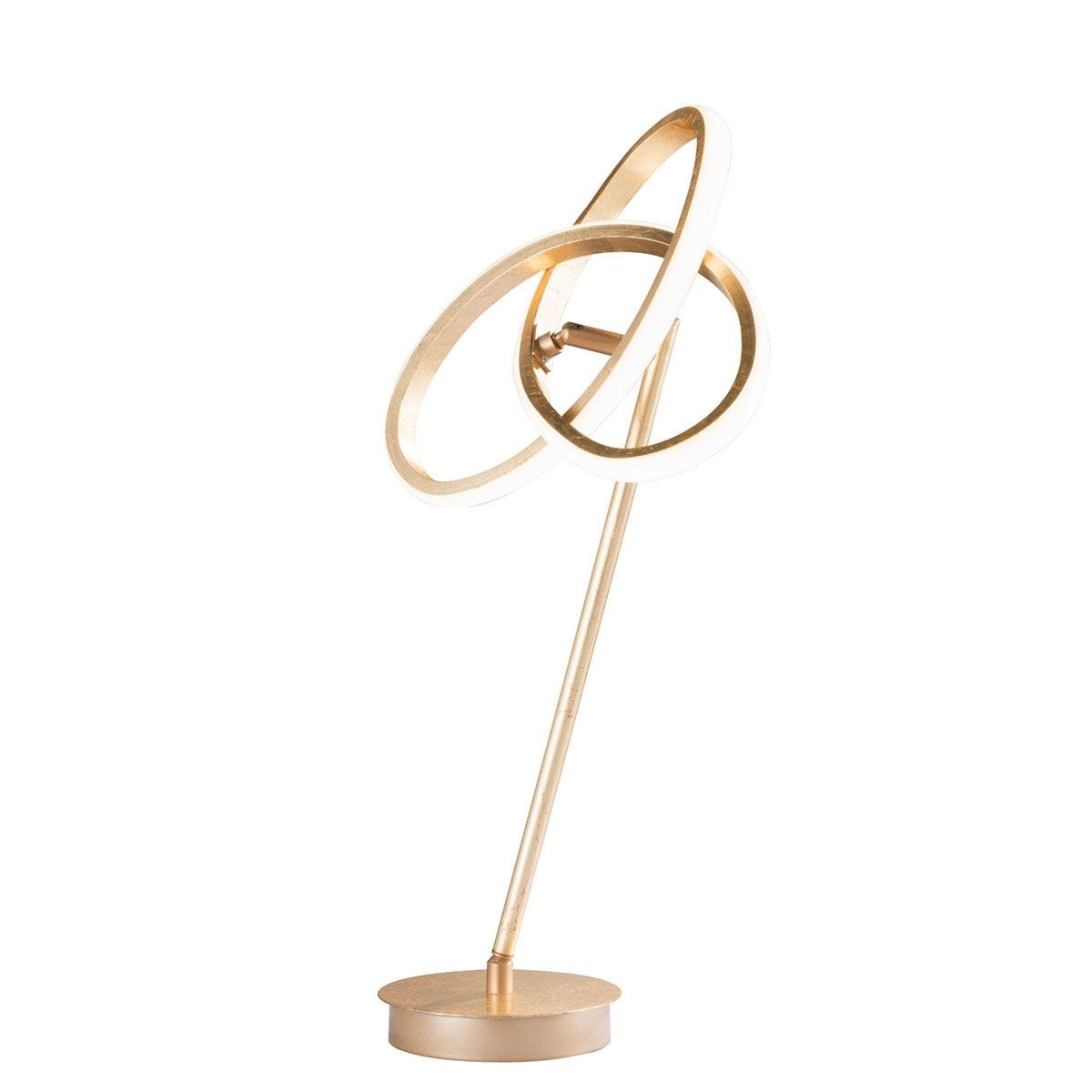 Wofi Eliot LED Table Lamp - Golden