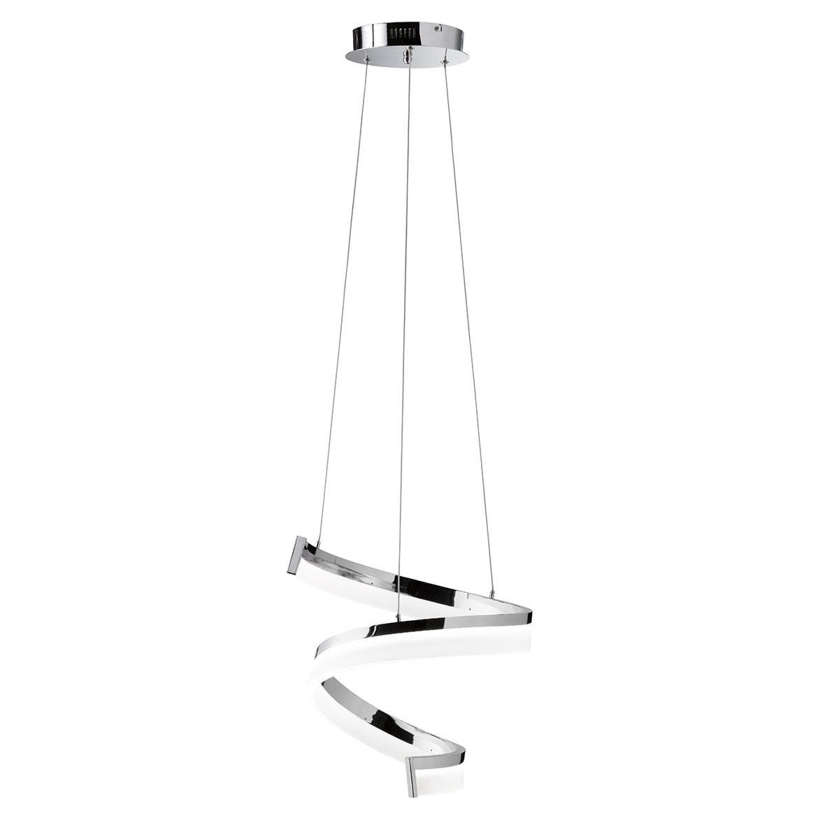 Wofi Fare LED Pendant Light - Chrome