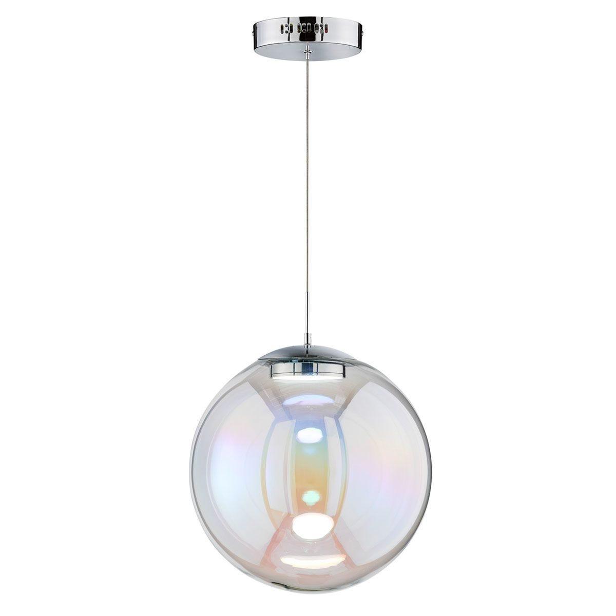 Wofi Grace Pendant Light - Chrome - LED (14W)