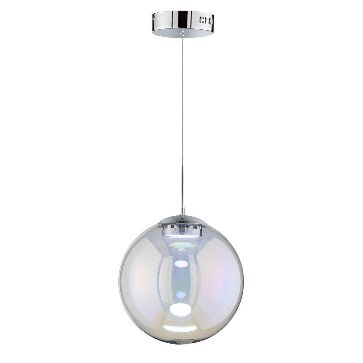 Wofi Grace Pendant Light - Chrome - LED (8.5W)