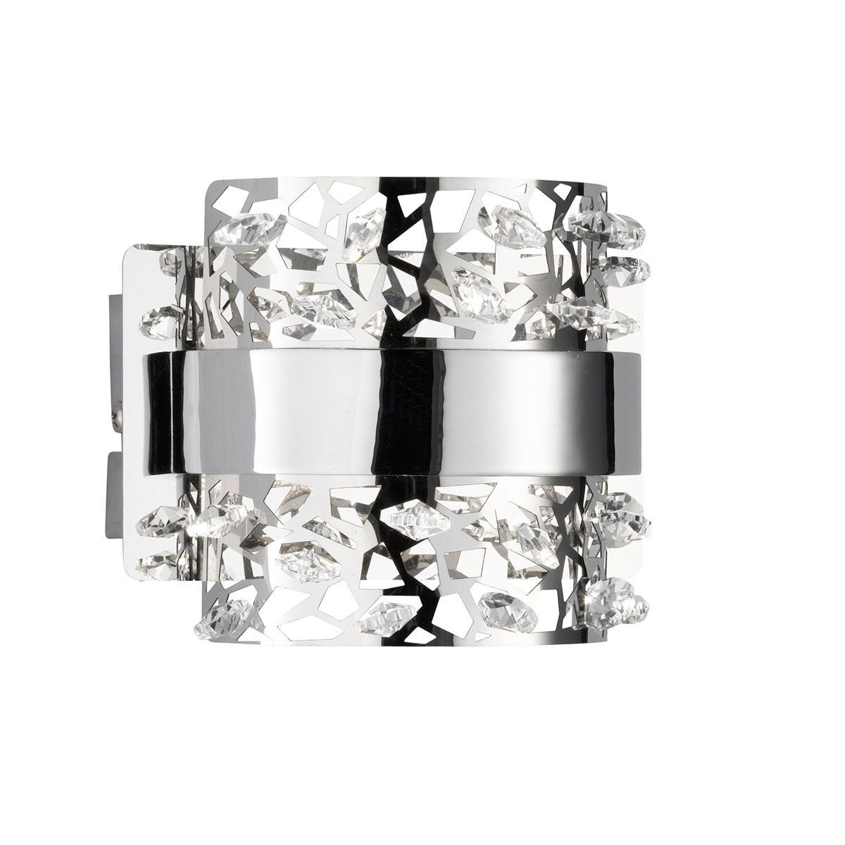 Wofi Kris Wall Lamp - Chrome
