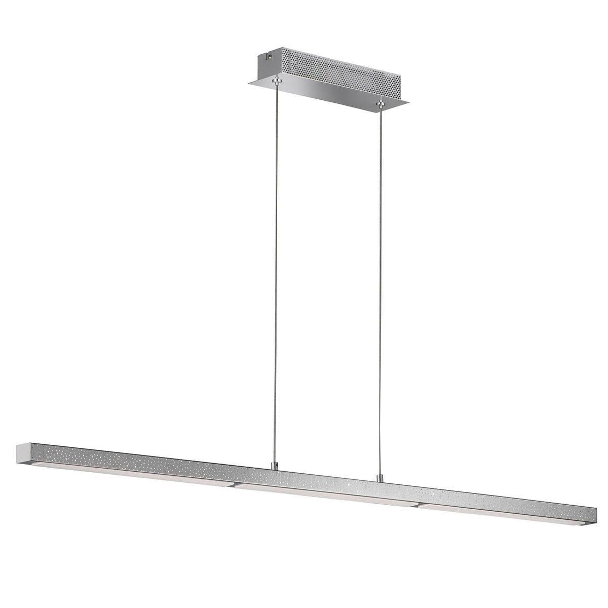 Wofi Levi LED Pendant Lamp - Chrome