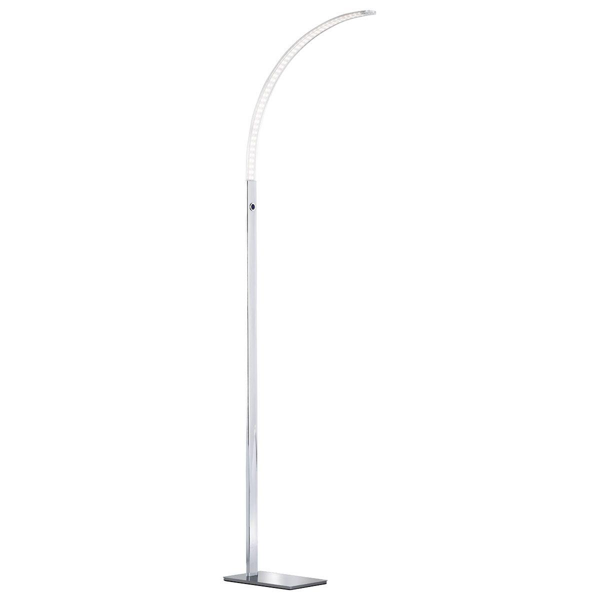 Wofi Luz Floor Lamp - Chrome - LED (16.8W)