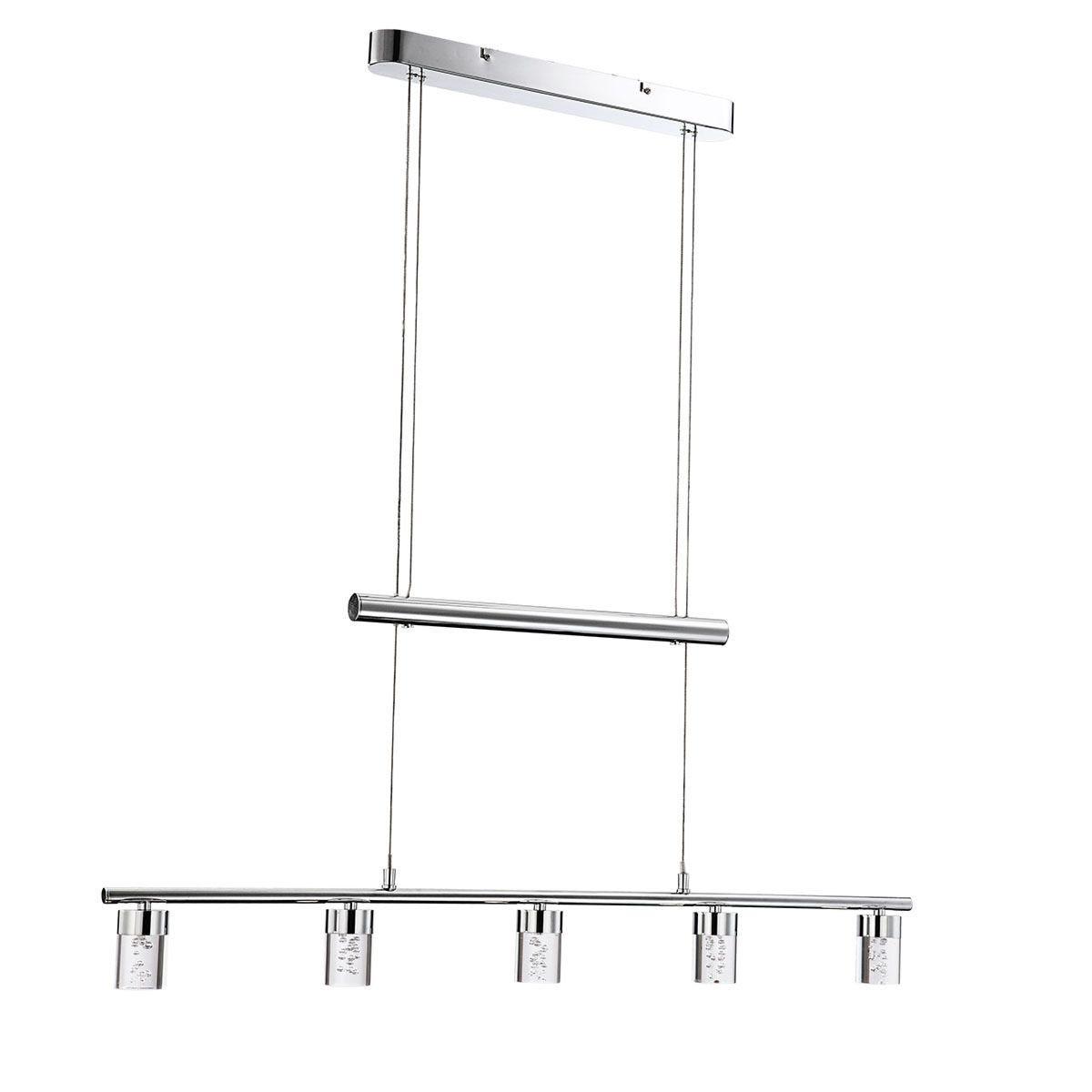 Wofi Maar LED Pendant Bar/Spotlight - Chrome