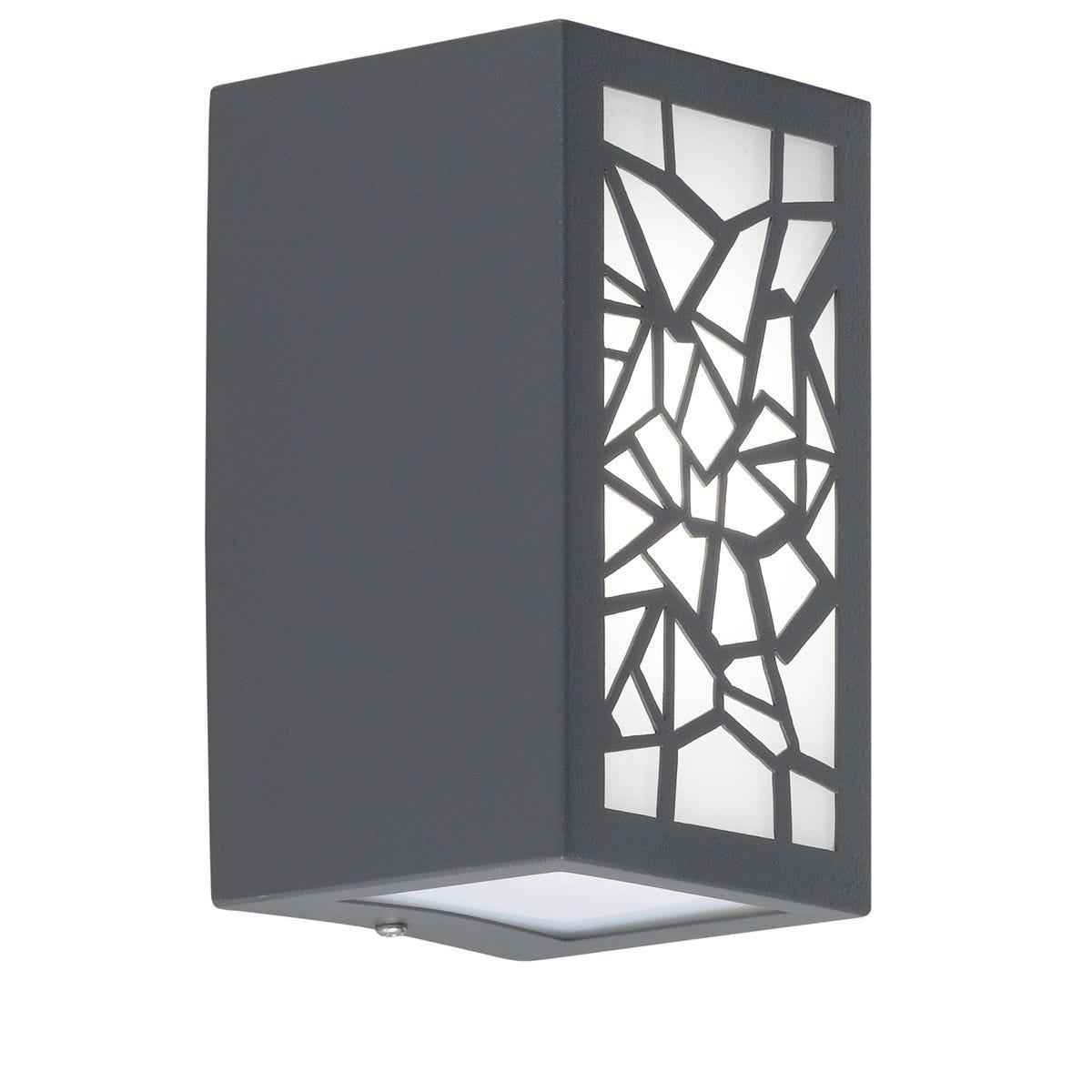 Wofi Padua Wall Lamp - Angular Design