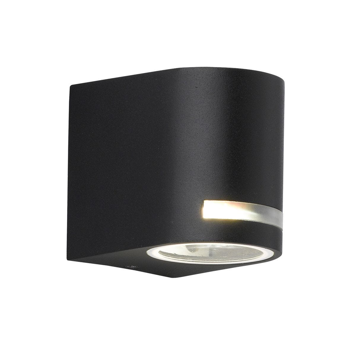 Wofi Panama Wall Lamp - Black