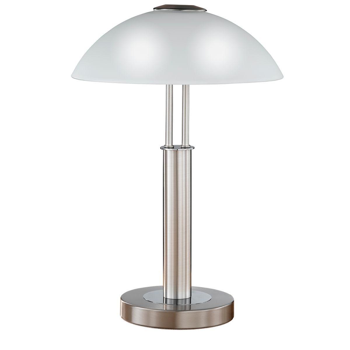 Wofi Prescot Table Lamp - Nickel