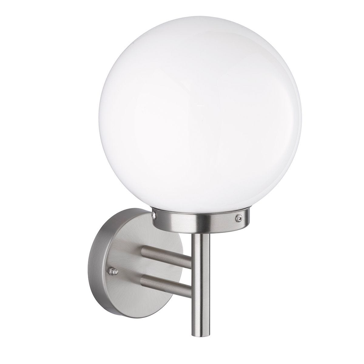 Wofi Remo Wall Lamp - Stainless Steel