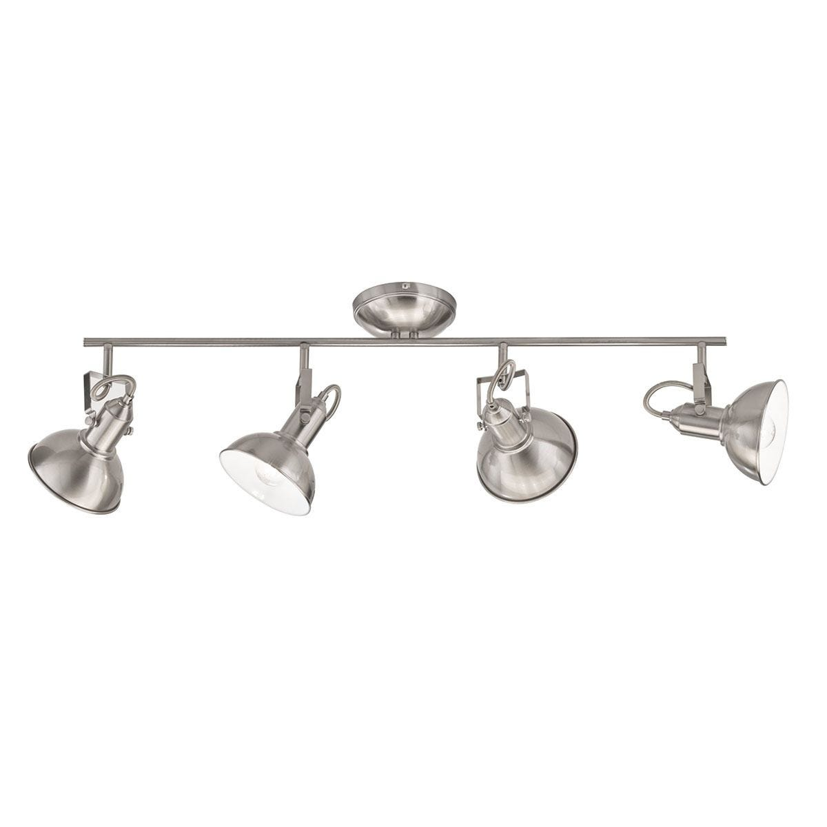 Wofi Scope Wall Lamp  4x E27 (25W) - Nickel Matt Finish