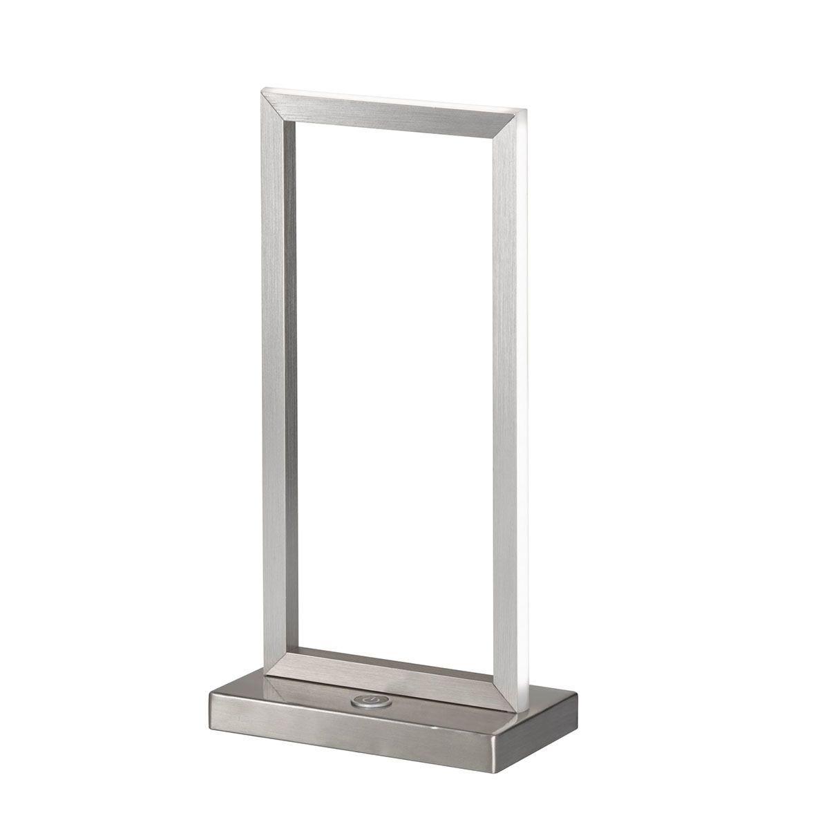 Wofi Skip Table Lamp - Brushed Aluminium