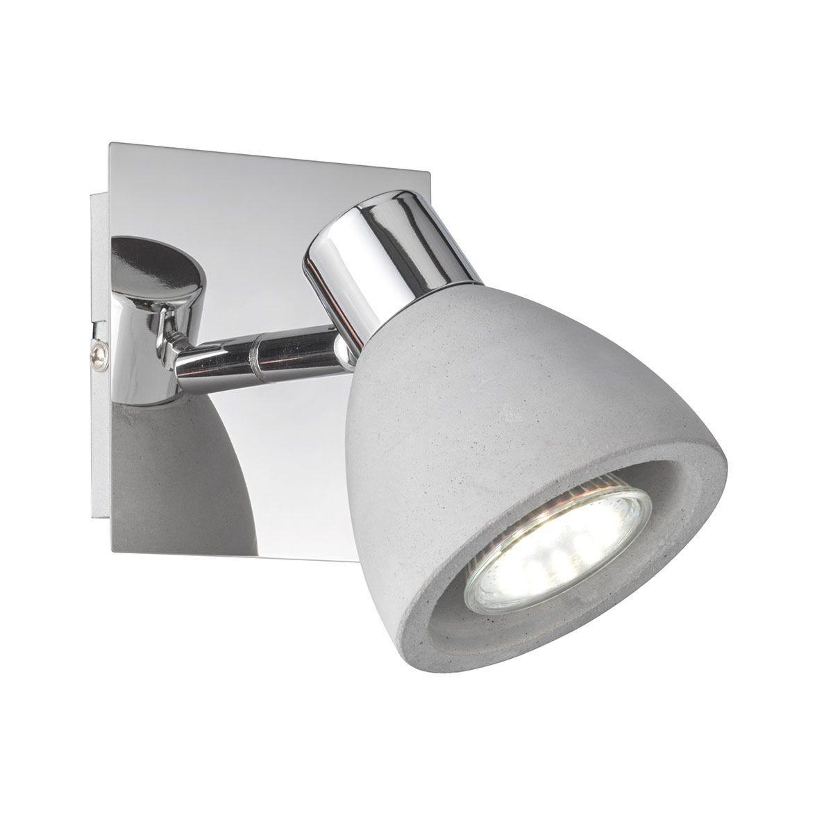Wofi Veria Wall Lamp - Grey