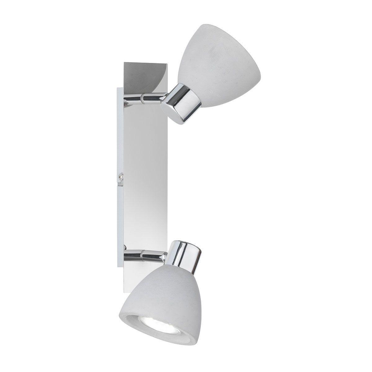 Wofi Veria 2 Wall Lamp - Grey