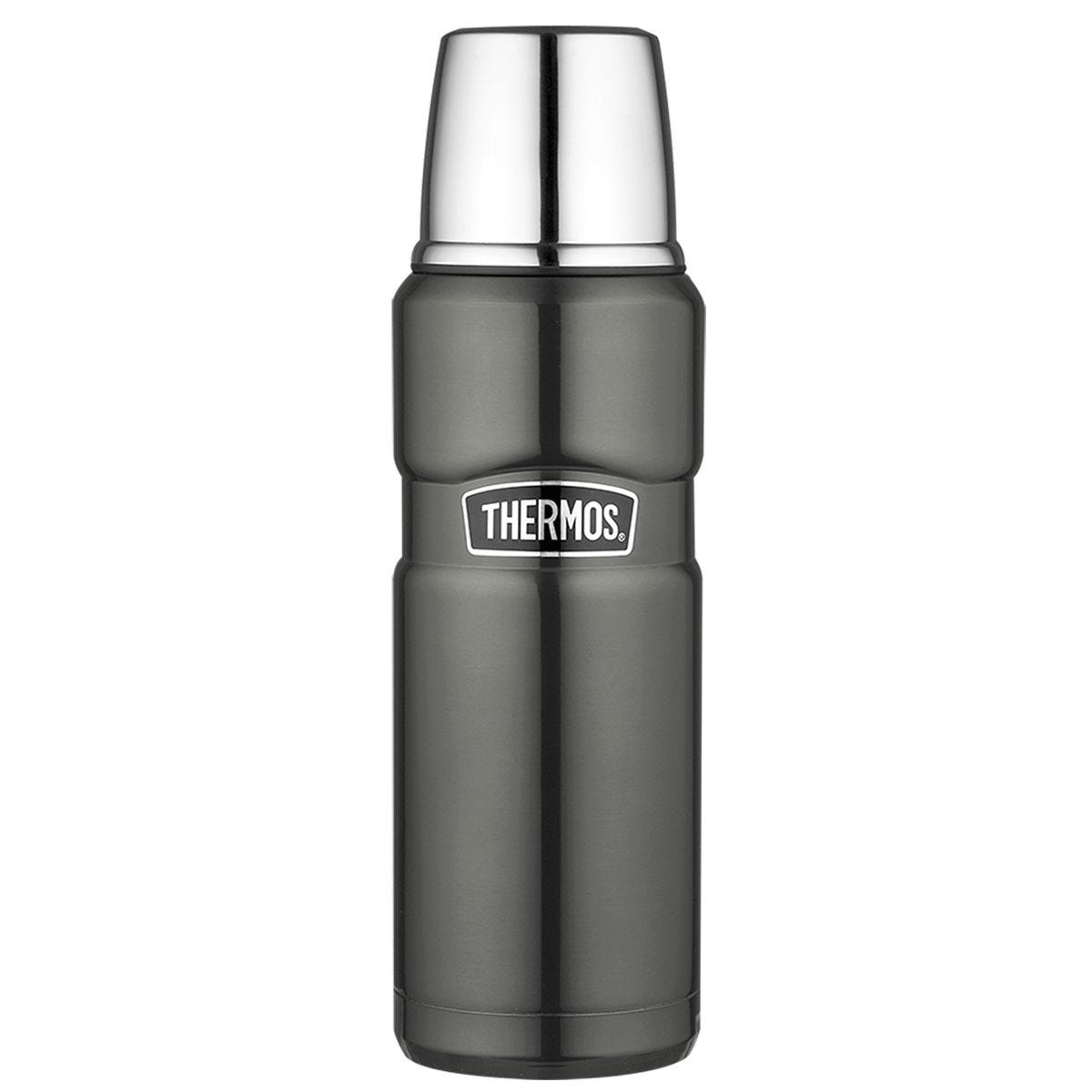 Thermos SK2000 470ml GTB Stainless King Flask - Gun Metal
