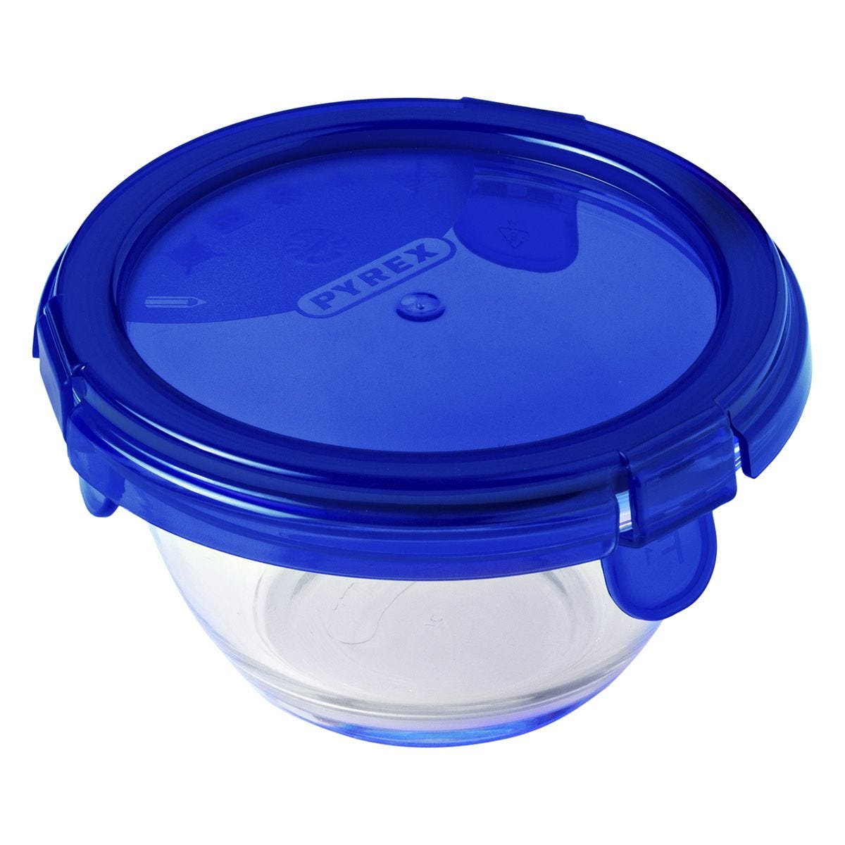 Pyrex Cook & Go Round Dish W/Lid