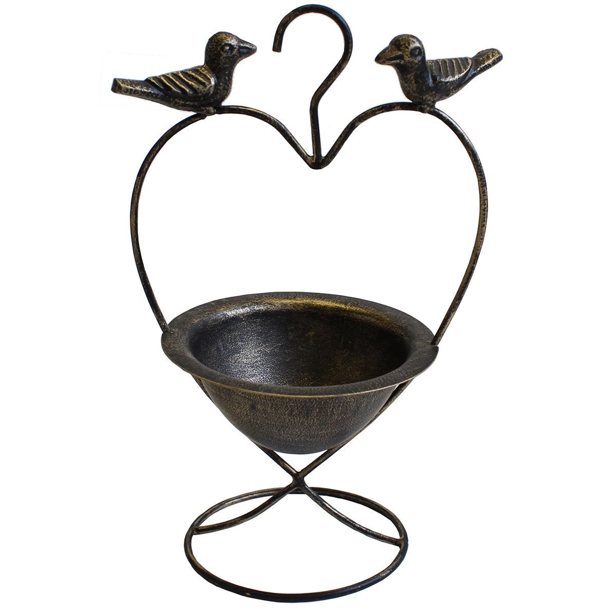 Mansion Garden Hanging Bird Feeder on Stand