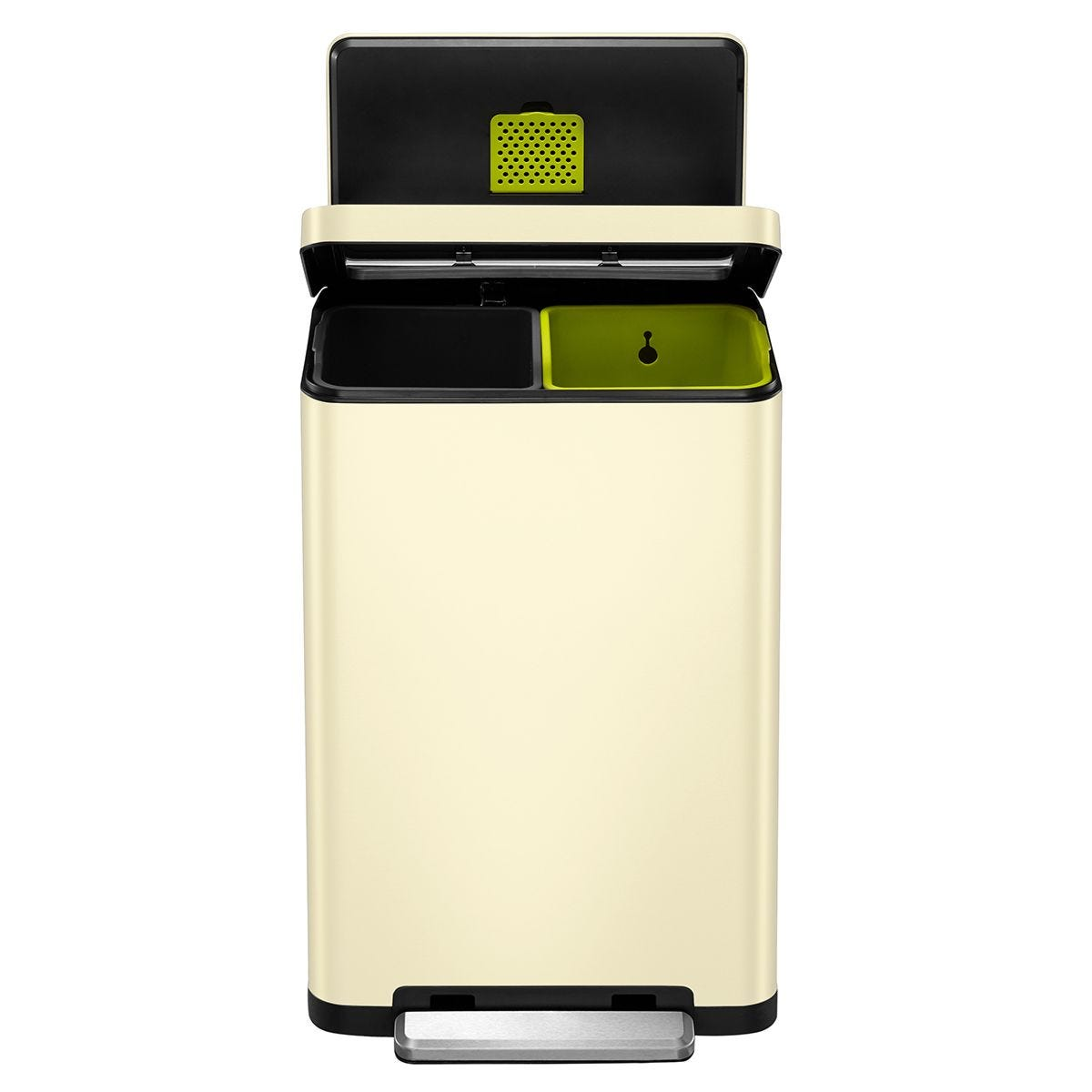 EKO X Cube Recycling Bin 40L - Cream