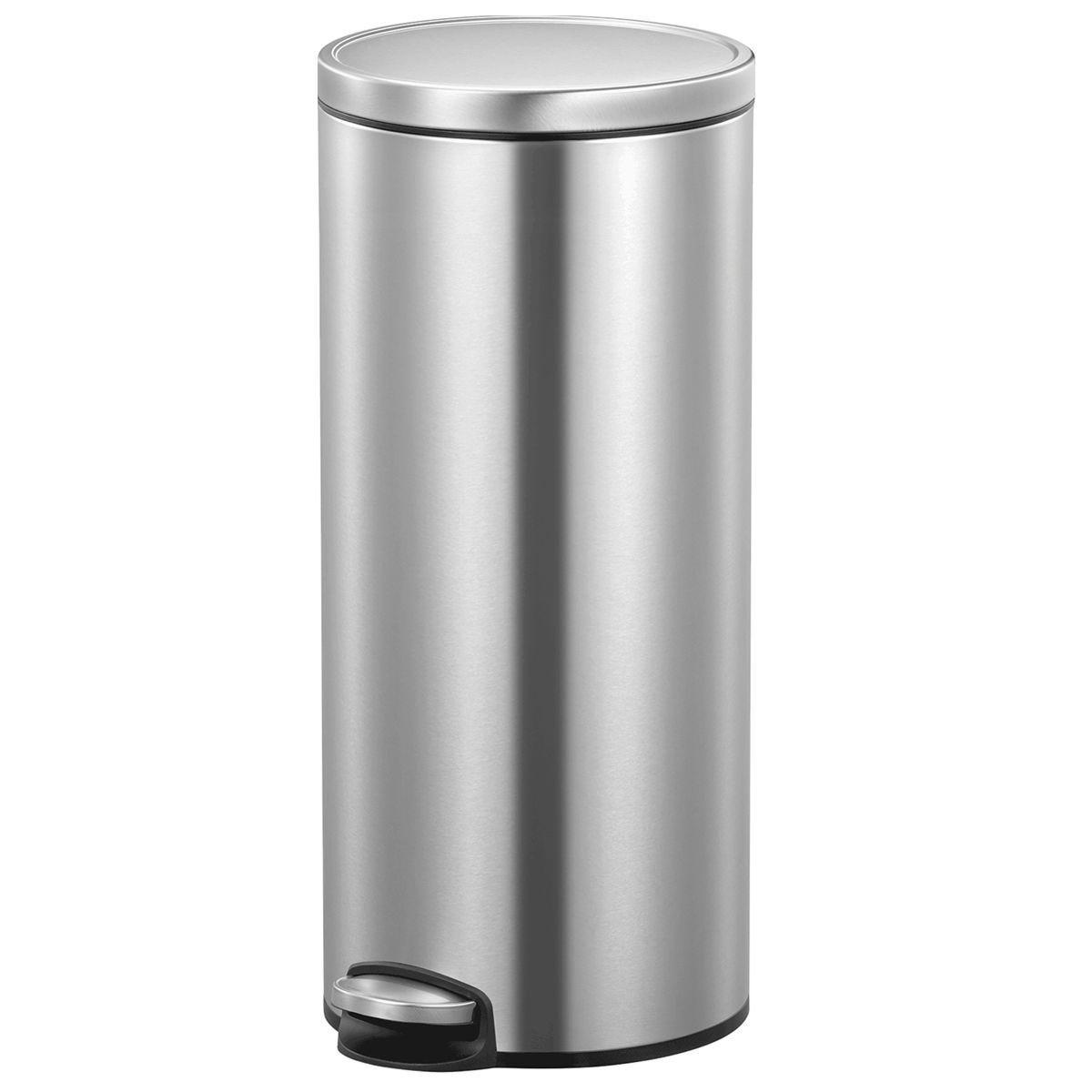 EKO Eva Kitchen Bin 30L - Stainless Steel