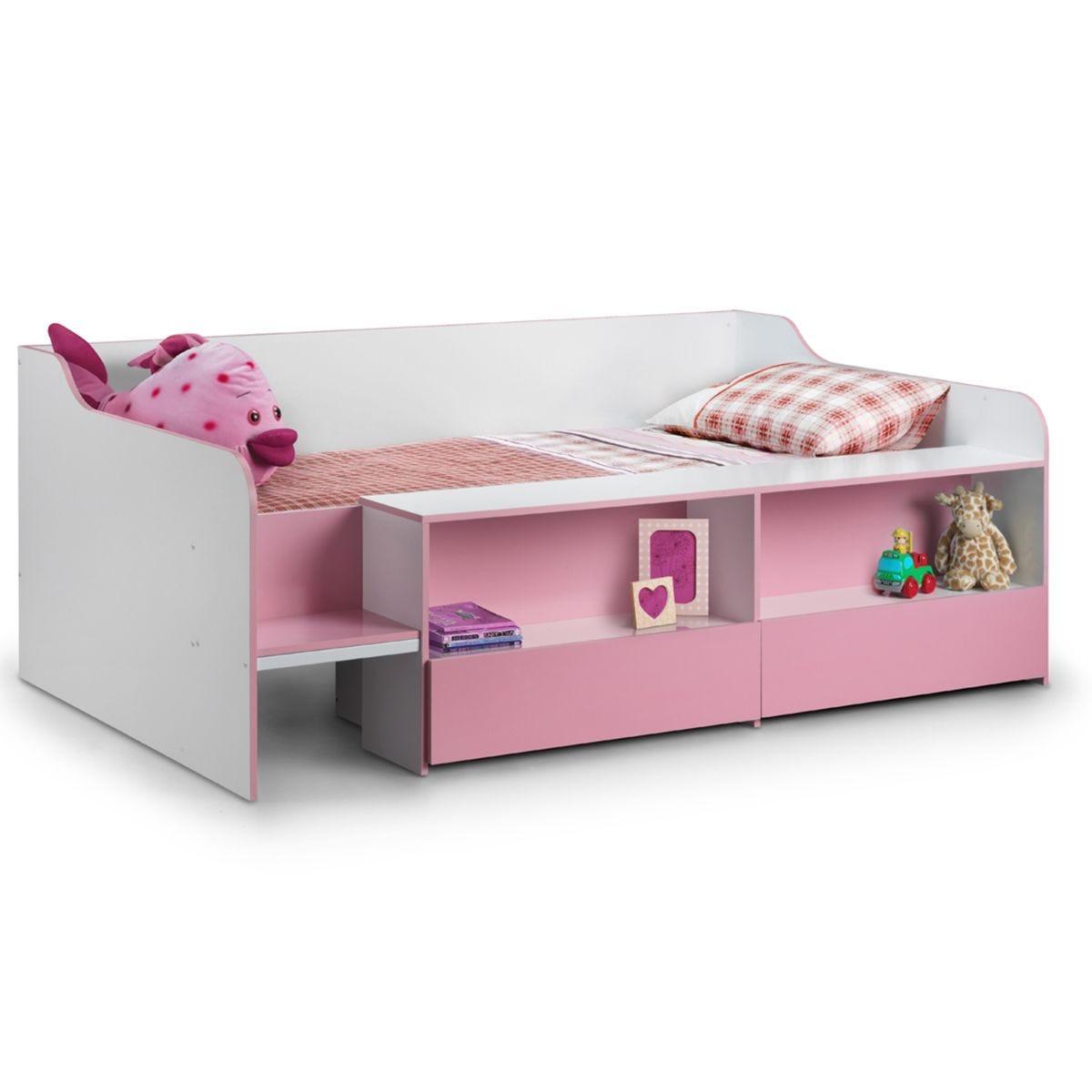 Julian Bowen Stella Low Sleeper Bed - Pink