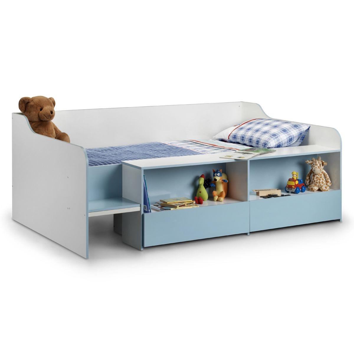 Julian Bowen Stella Low Sleeper Bed - Blue
