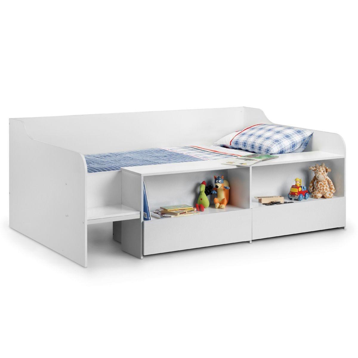 Julian Bowen Stella Low Sleeper Bed - Pure White