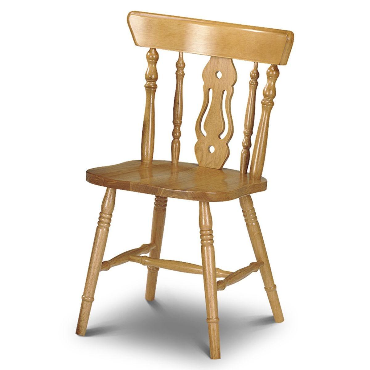 Julian Bowen Yorkshire Fiddleback Chairs - 4pk