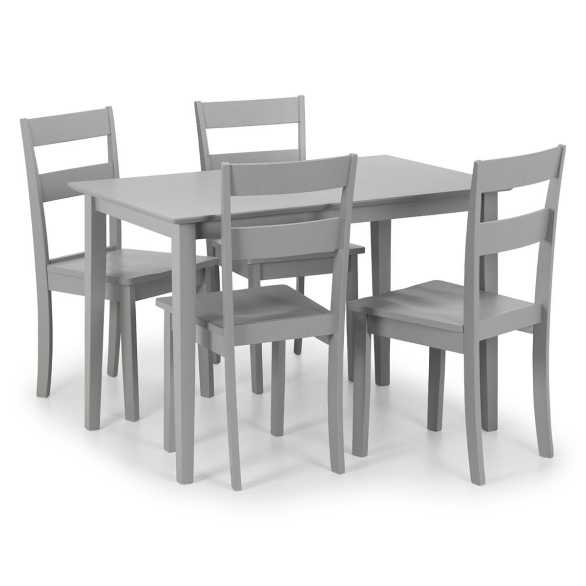 Set Of Kobe Rectangular Table And 4 Chairs