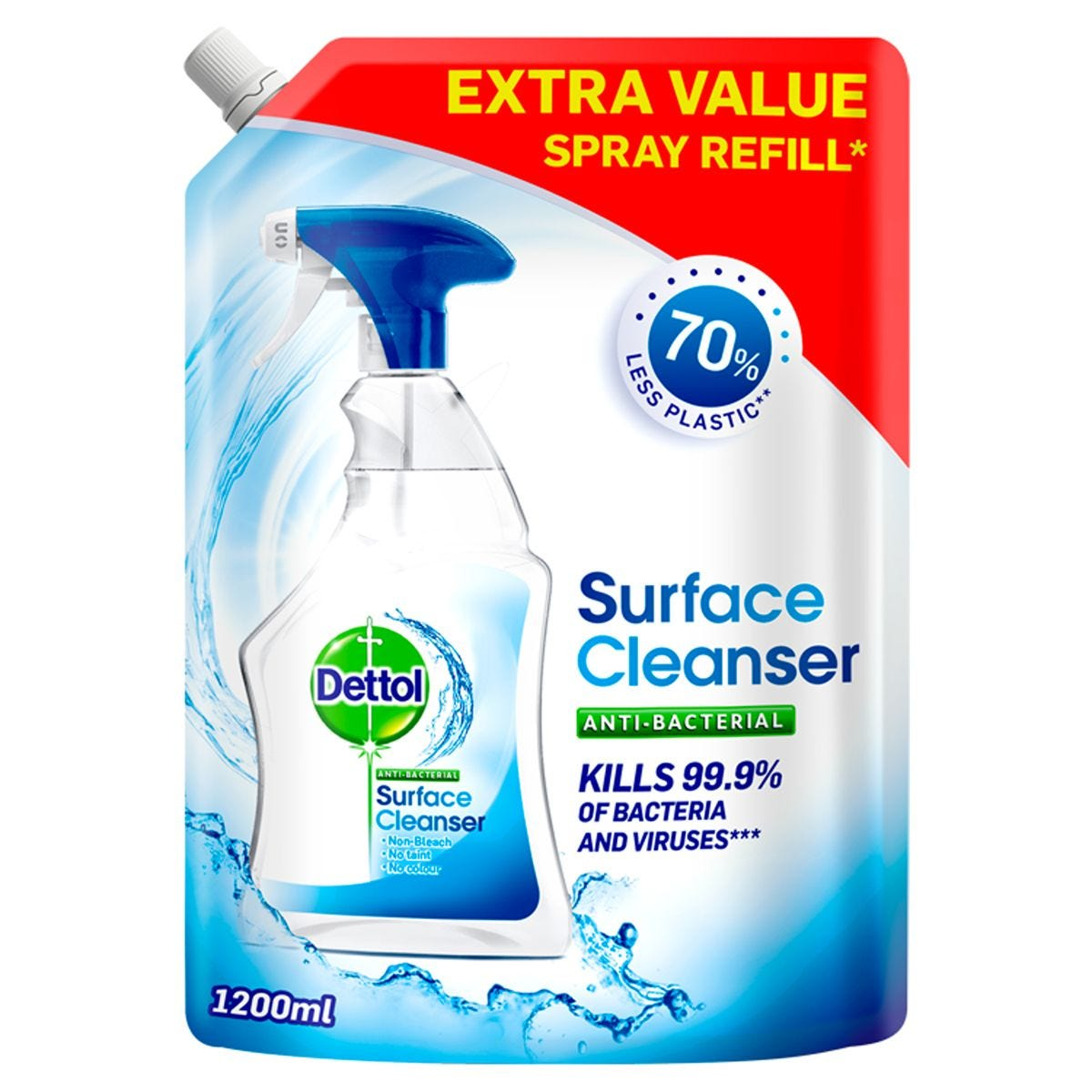 Dettol Antibacterial Surface Cleanser Refill - 1200ml
