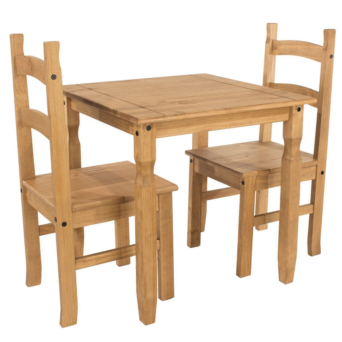 Halea Square Dining Table & 2 Chairs
