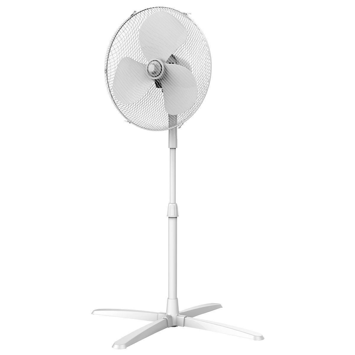 Igenix 16 Inch Pedestal Fan - White