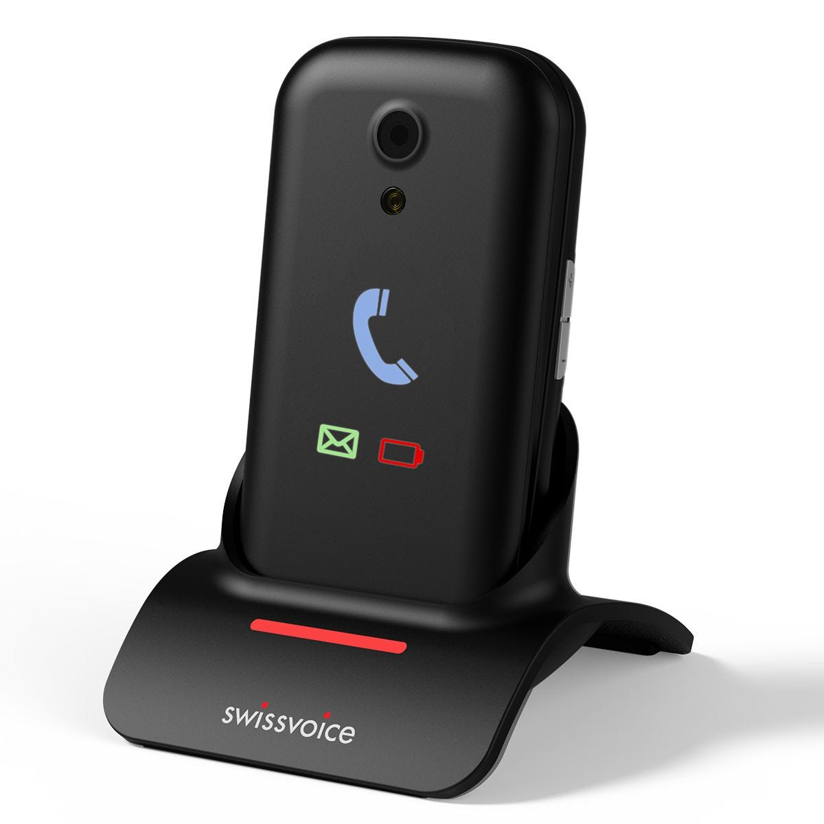 Swissvoice S28 Mobile Phone with Base - Black