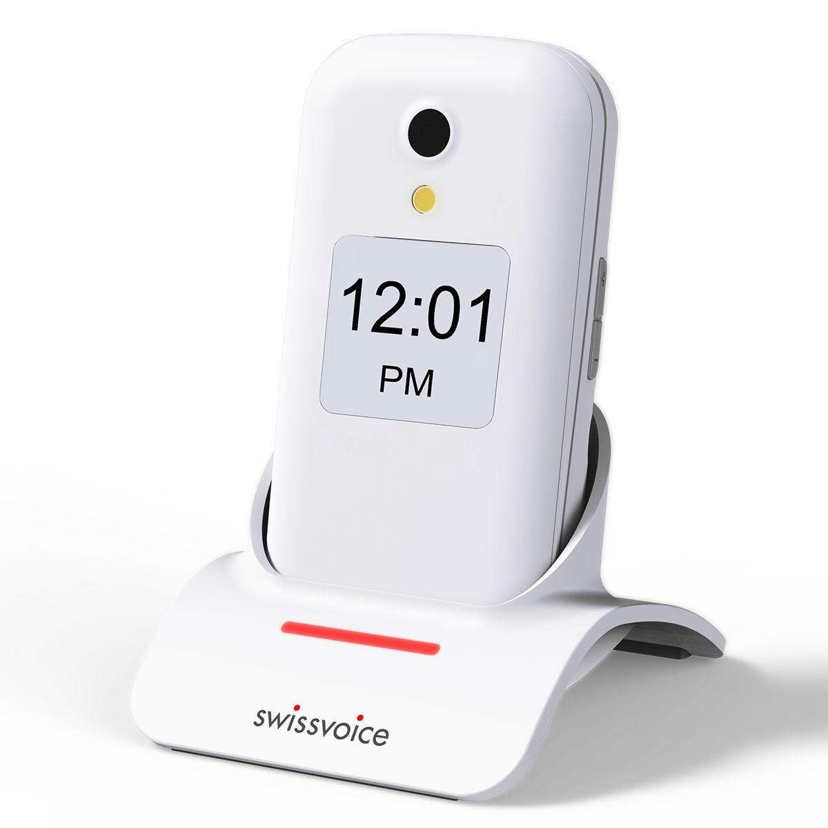 Swissvoice D28 Mobile Phone with Base - White