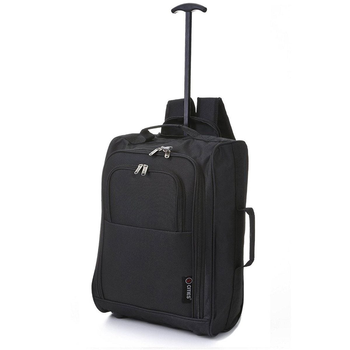 5Cities Cabin Trolley Backpack - Black