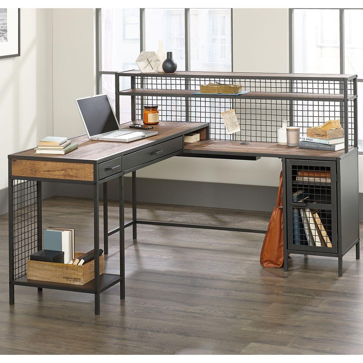 Teknik Boulevard Cafe L-Shaped Desk