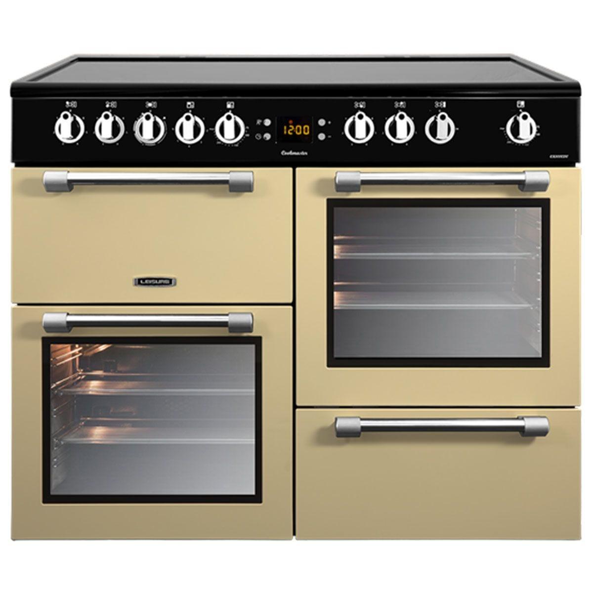 Leisure CK100C210C 100cm Cookmaster Electric Range Cooker - Cream