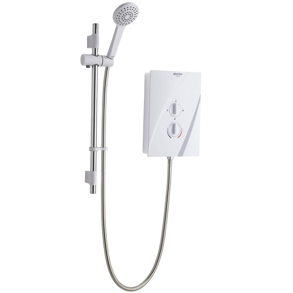 Bristan Cheer Electric Shower 8.5kw White