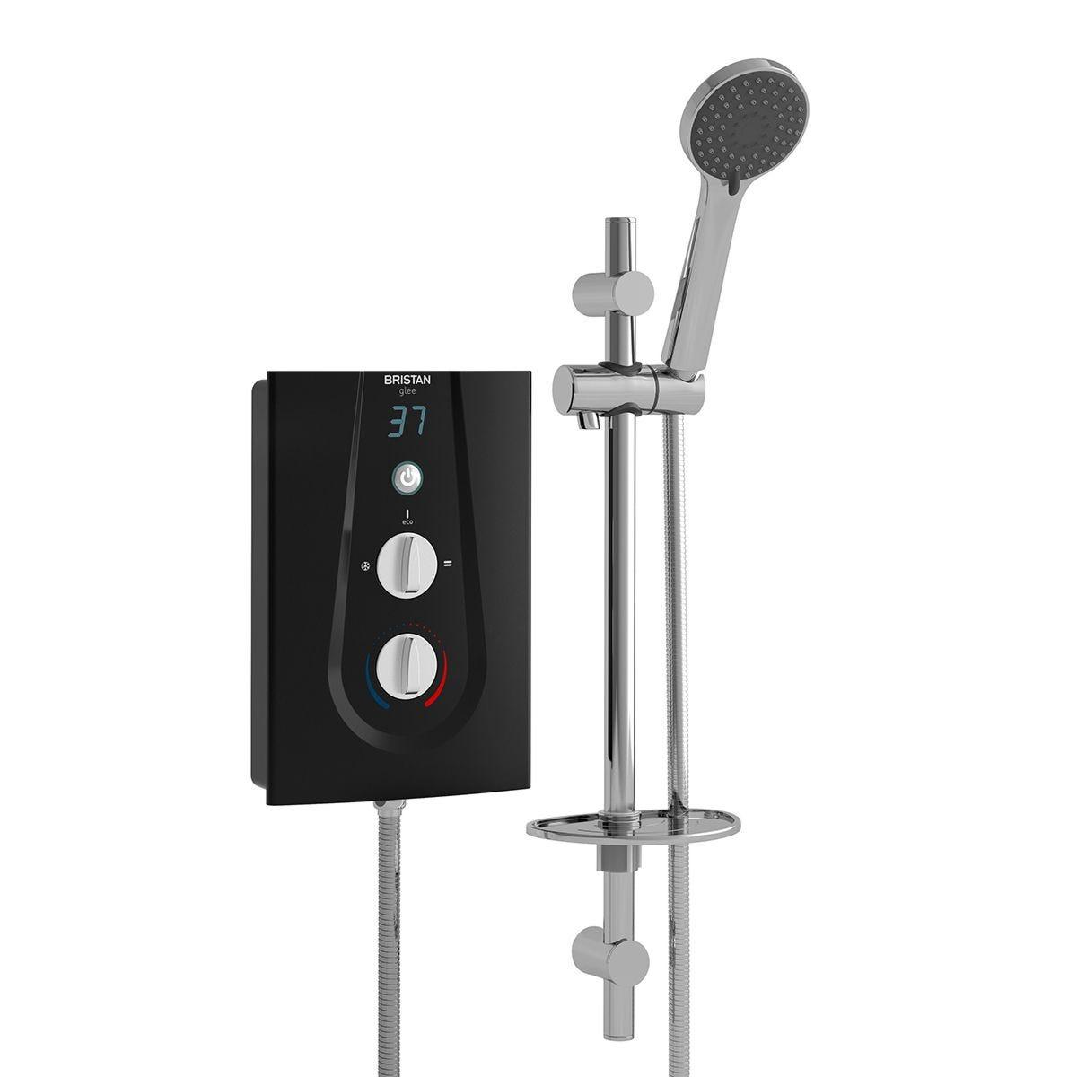 Bristan Glee Electric Shower 9.5kw Black